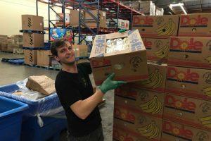 Feeding America Balanced Action Marketing volunteering banana pallet